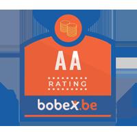 Dit bedrijf heeft een zeer goede credit rating op Bobex.