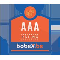Dit bedrijf heeft een uitmuntende credit rating op Bobex.