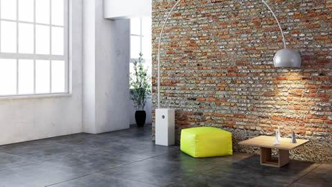 Betonvloer, gepolierd beton