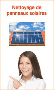 devis nettoyage panneaux solaire