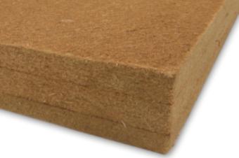 Matériaux murs extérieurs : fibre de bois
