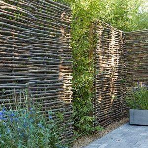 clôture châtaignier