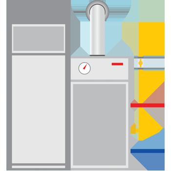 condensatie vloerketel