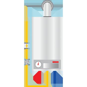 condensatieketel met boiler