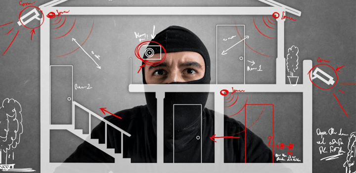 Draadloos alarmsysteem: type detectie