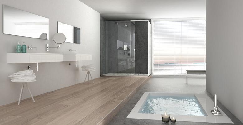 De voordelen van laminaat in de badkamer