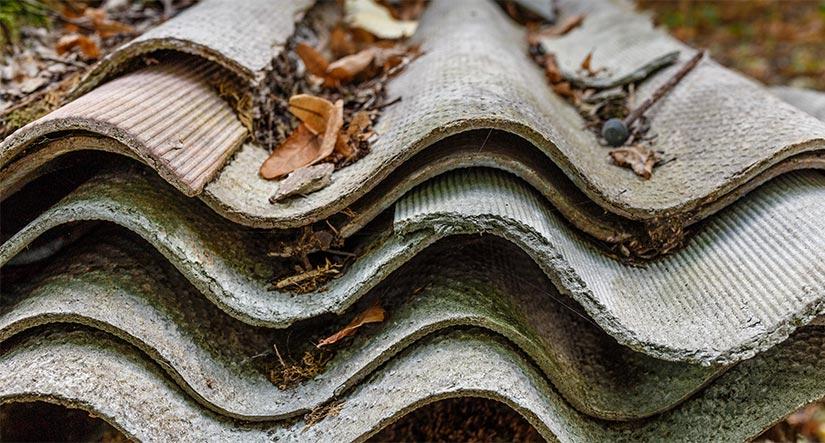 Asbestplaten: hoe asbest herkennen