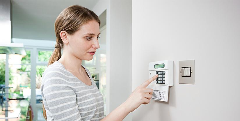 Alarmsysteem instellen