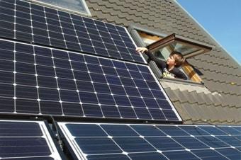 Panneaux solaires : surfaces