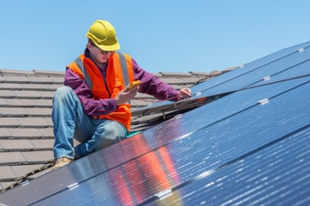 Panneaux solaires : degrés de pente