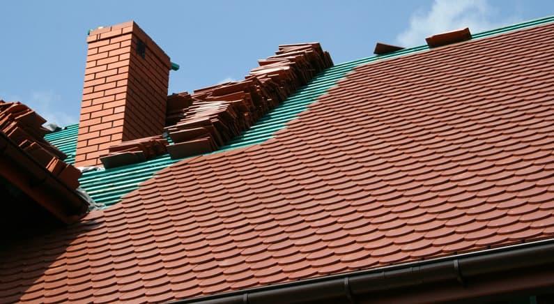 Prijs nieuw hellend dak