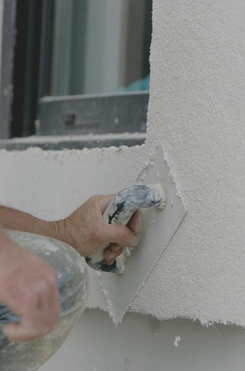 Revêtement de façade: prix du crépi