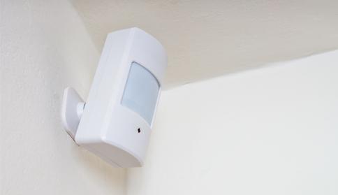 Système d'alarme: prix d'un détecteur de mouvement
