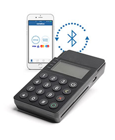 Terminal de paiement mobile via smartphone