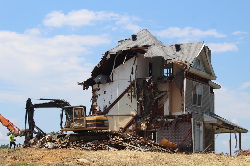 travaux de démolition maison