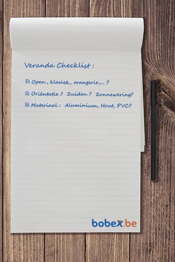 Checklist veranda kiezen