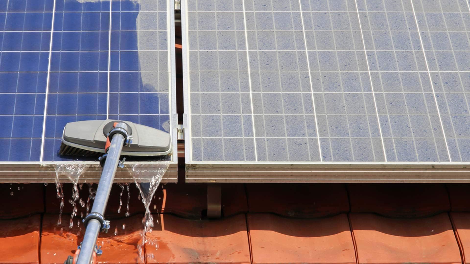 category-Nettoyage panneaux solaires
